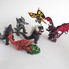 Bandai Capsule Toys Godzilla HG 10 - Complete set of 6, SpaceGodzilla Destoroyah
