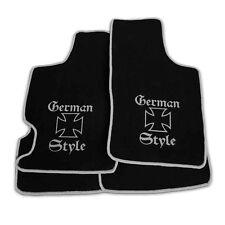 ver.Farben Auto Fußmatten German Style für CHRYSLER JEEP WRANGLER TJ 97-06 4tlg
