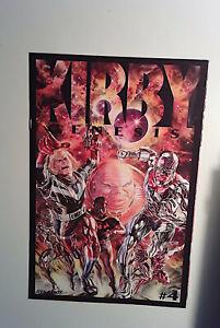 Kirby: Genesis #4 Dynamite Entertainment (2011) VF 1st Print Comic Book