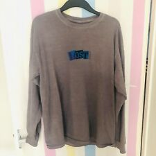 Urban Outfitters Purple Lost Cause Long Sleeve Top - Unisex Small 6 8 10 12