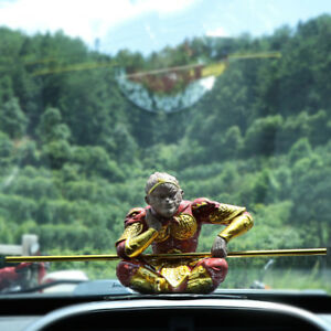 the great sage monkey king SunWukong car decoration ornament gift zisha handmade