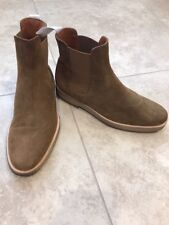COMMON PROJECTS Suede Chelsea Boots, Brown, 40 EU 7 US, $530
