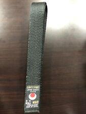 Tokaido Karate Black Belt Martial Arts Satin JKA, Size 2