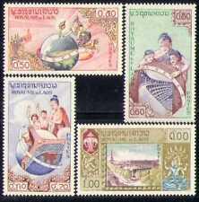 Laos 1958 UNESCO/Buildings/Heritage 4v set (n28175)