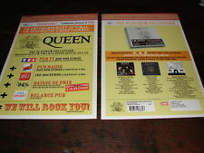 QUEEN LIVE 1 +2+3 !!!!!!!!!!!!!!!!RARE FRENCH PRESS/KIT