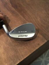 Cleveland RTX 3 58 Degree Lob Wedge, KBS Wedge Flex Steel Shaft