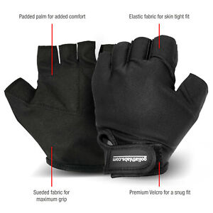Weight Lifting Gloves Gym Fitness Bodybuilding Workout Glove mens womens