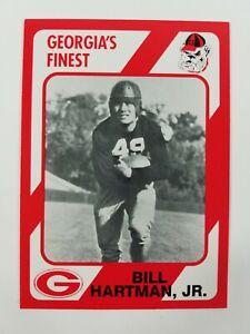 Bill Hartman Jr Georgia Bulldogs UGA Dawgs 89 Collegiate Collection Thomaston GA