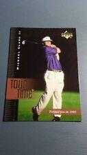 MICHAEL CLARK II 2001 UPPER DECK GOLF CARD # 190 B7449