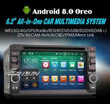 AUTORADIO ANDROID 8.0 OctaCore 4GB-32GB Fiat Sedici Stilo Tipo Smart For Two 2 -
