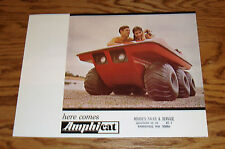 Original 1969 - 1970 ? Amphicat Sales Brochure