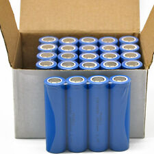 50x ICR 18650 2600mAh 3.7V Li-ion Vape Mod Torch Rechargeable Batteries PKCELL