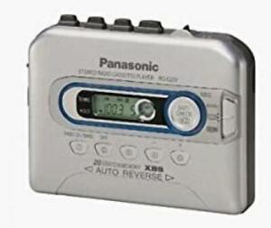 Panasonic RQ-E20V Portable Cassette Player - Grade A (RQ-E20VP-S)