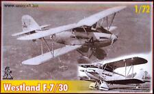 Unicraft Models 1/72 WESTLAND F.7/30 British 1934 Fighter Prototype