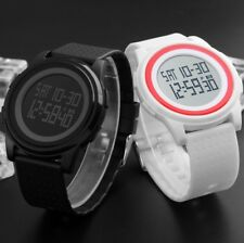 Fashion Mens Digital Light Date Alarm Countdown LCD Military Sports Wrist Watch