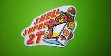 A591 PATCH ECUSSON SHELL SUPER 2T MOTO 10*7 CM