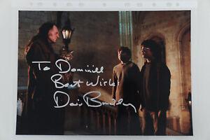 Autogramm David Bradley Harry Potter actor original autograph 20x30 8x10 signed