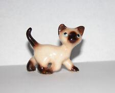 RETIRED HAGEN RENAKER Siamese Kitten,Running Cat MINIATURE  FIGURINE[VHTF}#A-057