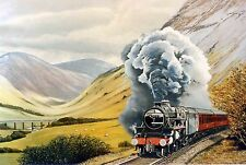 WEST HIGHLAND LINE SIGNED RAILWAY PRINT THE PARNHAM GALLERY