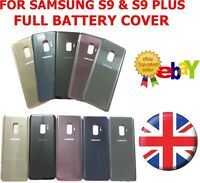 Back Glass Battery Door Cover Housing Replacement For Samsung Galaxy S9 & S9  +