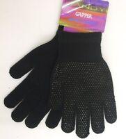 Herren Unisex Damen Magische Handschuhe/Gummigriffe Schwarz One Size Neu
