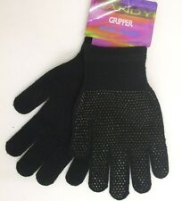 Mens Unisex Ladies Magic Gloves/Rubber Grips Black One Size New