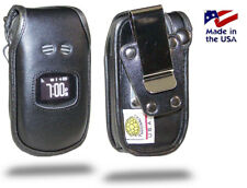 Sanyo TAHO Turtleback Heavy Duty Leather Phone Case