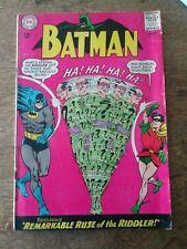 Batman #171 1st SA Riddler appearance Displays well