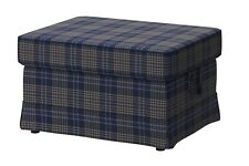 IKEA Ektorp Footstool Slipcover Rutna Multicolor Ottoman Cover BrandNew 20256240