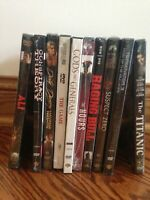 DVD Lot of 10 movies Action Thriller War Romance- All New Sealed!!