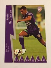 2014-15 Hyundai A League Soccer Card - Perth Glory Jamie Maclaren
