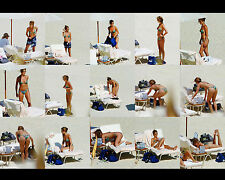 JENNIFER ANISTON 8X10 PHOTO PICTURE PIC HOT SEXY TINY BIKINI COLLAGE CANDID 56
