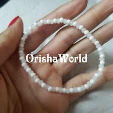Stretch Elastic Pulsera Orisha Obatala Obbatala Santeria bracelet Ilde Ide Idde