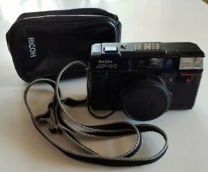 Ricoh AF-40 F/2.8 38mm Lens Point & Shoot 35mm Film Camera Works