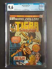 Marvel Chillers #3 CGC 9.6 -1976 Tigra the WereWoman