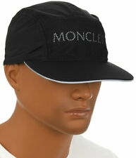 NEW MONCLER EXTRA LIGHT REFLECTIVE LOGO BASEBALL CAP HAT ONE SIZE