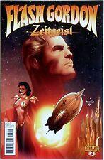 Flash Gordon Zeitgeist #2 Variant B - Dynamite - Eric Trautmann - Alex Ross