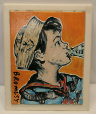 David Bromley Original Painting BOTTOMS UP!  28x36cm with COA. #1686 NO RESERVE