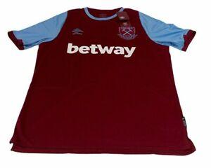 West Ham United Home Shirt 2020 2021 M Medium Football Jersey England Umbro
