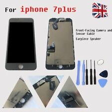 For Black iPhone 7 Plus Touch LCD Display Screen Digitizer With Camera+Speaker