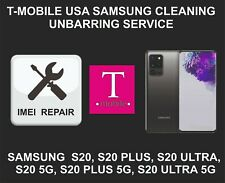 T-Mobile USA Cleaning, Unbarring Service for Samsung S20, S20 Plus, S20 Ultra 5G
