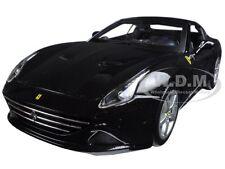 FERRARI CALIFORNIA T (CLOSED TOP) BLACK 1:18 DIECAST MODEL CAR BY BBURAGO 16003