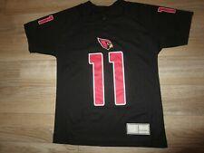 Larry Fitzgerald #11 Arizona Cardinals NFL Black Jersey Youth M 10-12 med child