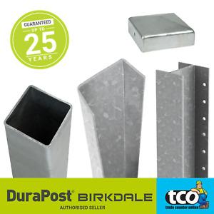 Fencemate Durapost Steel Fence Post Galvanised Fencepost 2.4m / 3m
