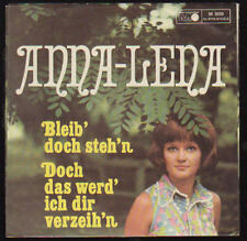 """NUR 7"""" COVER Anna Lena Bleib doch steh`n 60`s Metronome ONLY 7"""" COVER"""