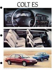 1994 Dodge Colt Original Car Press Guide Brochure like