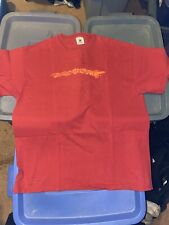 Trey Anastasio Phish 2002 Usa Tour Size Xl Red Concert Shirt Gently Worn