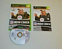 NFL Head Coach (Microsoft Xbox, 2006) Tested Complete
