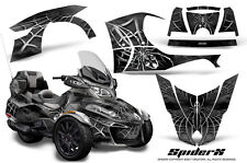 CAN-AM BRP SPYDER RT 2014-2016 CREATORX GRAPHICS KIT DECALS SPIDERX SILVER