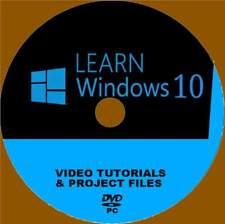WINDOWS 10 TRAINING VIDEOS SET SIMPLE PRESENTED BY EXPERT TUTORS NEW PC-DVD